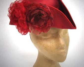 Red Rose Tricorn Hat