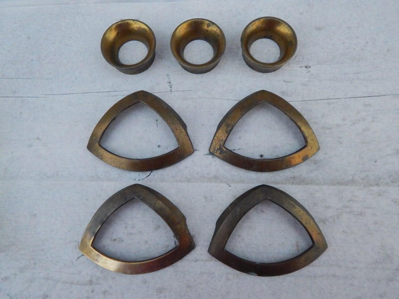 Keeler Brass Company Mid Century Modern Dresser Hardware Handles ...
