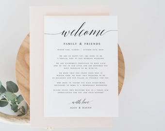 template for welcome letter
