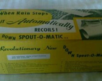 "The Vintage Revolutionary ""DOWNSPOUT-O-MATIC"" still in box"