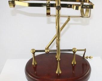 Vintage decanting cradle wine server decanteur, high model