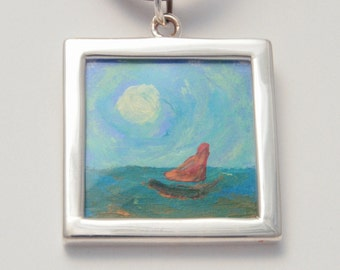 Sail - Necklace Painting