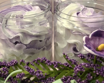 Lavender Fluffy Whipped Soap