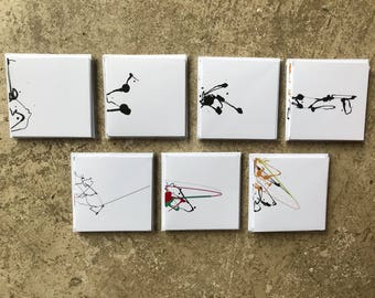 Insect Series: Pack of 7 cards