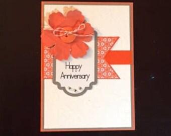 Happy Anniversary homemade cards; homemade Happy Anniversary cards; blank cards; Happy Anniversary cards; Anniversary cards;