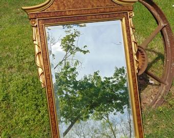VINTAGE Mirror, Wall Mirror, Ornate Mirror, Federal Mirror, Decorative Mirror, Nursery Mirror, Size 39 x 25  ,Choose Color