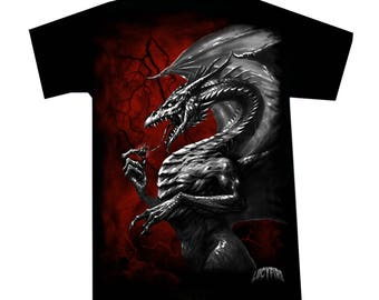 T-shirt Red Dragon