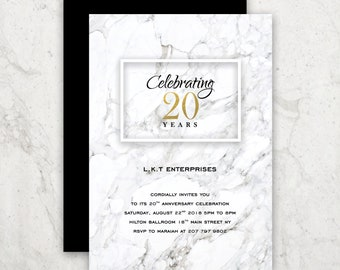Corporate invite Etsy