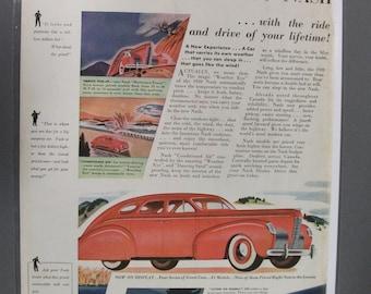 Nash #105   Nash    Magazine Ad  1939