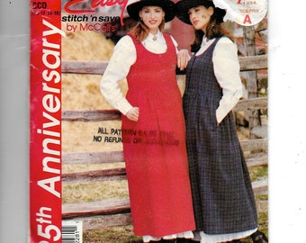 McCall's Misses' Jumper and Petticoat Pattern P228