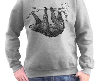 Sloth Sweatshirt - Small-3X - Sloth Shirt