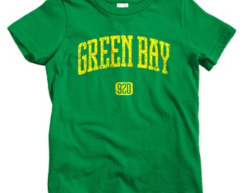 Kids Green Bay 920 T-shirt - Baby, Toddler, and Youth Sizes - Wisconsin Tee - 4 Colors