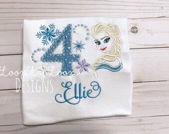 Ice Princess Birthday Shirt