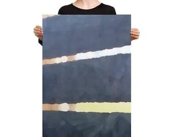 Art on Canvas - 24x36 - Slatted