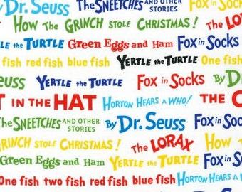 Dr. Seuss Colorful Titles From Robert Kaufman