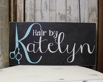 Business Sign with Custom Logo, Handmade Business sign for Retail, Jeweler, Photographer, Small Business, Personalized Hair Salon Sign