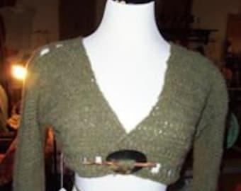 Crocheted Shrug