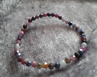 Bracelet ruby/sapphire