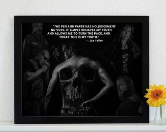 Framed Sons Of Anarchy - The Crow's Tale