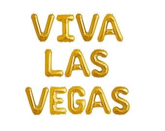 Viva Las Vegas Balloons Vegas Bachelorette Party Decorations Bachelorette Party Balloons Vegas Party La Vegas Wedding Las Vegas Decor