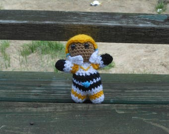 Voltron Legendary Defender Hunk Plush Crochet Kit, Voltron Plush, Hunk Plush, Crochet Kit