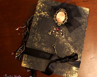PERSONALIZE YOUR BOS Moonlight spell wedding Journal Book of Shadows Grimoire Diary handcraft pagan Spell book spells idea gift her