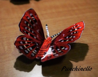 Recycled Aluminum Butterfly Magnets