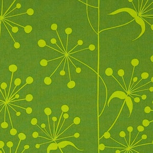 Free Spirit Valori Wells Sole Agapantha Lime Fabric By The Yard