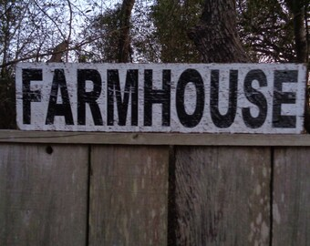 Farmhouse Sign, Fixer Upper Sign, 30x9.25
