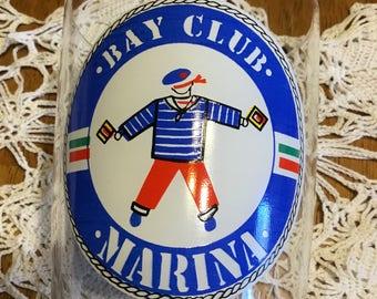 Bay Club Marina Vintage Glass . . .