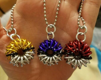 Chainmaille Pokéball necklace *ONE*