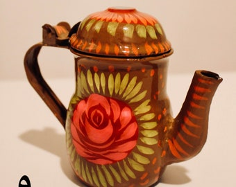 Hand Painted Traditional Teapot