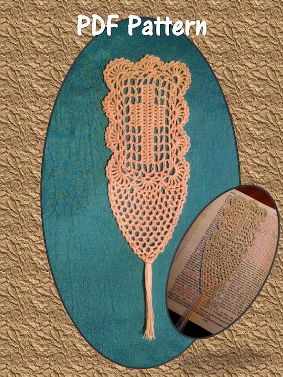 Instant Download Pdf Pattern Delicate Filet Crocheted Cross