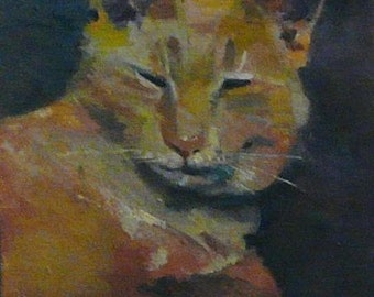 Commissioned Portrait: Mister Kitty