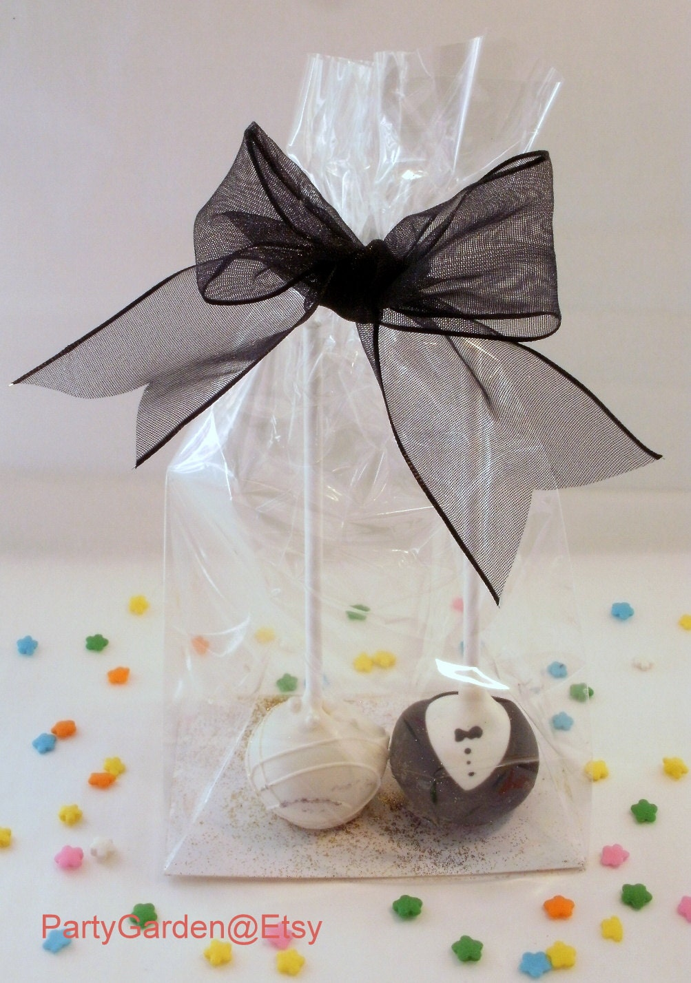 100 Cake Pop Bags Double Wide Perfect for two cake pops