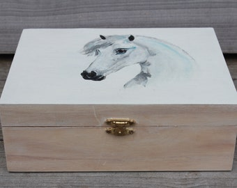 Tea Box Horse