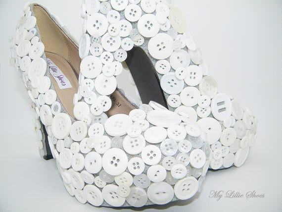 Wedding Chunky Pageant ~ Shoes Unique heels bridal Prom gift Bridesmaid Day ~ bride for Birthday Gift her Wedding Mothers high 4EvaFx4wq