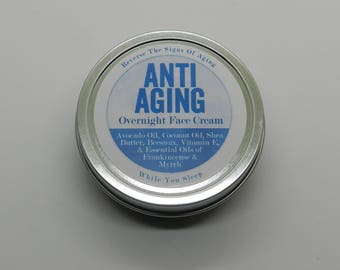 Anti-aging Overnight Face Cream
