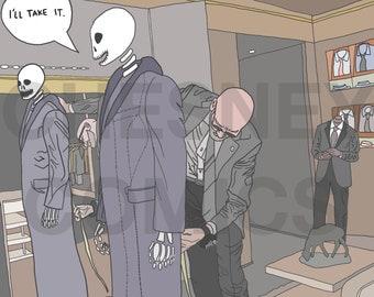 A Grim Suit