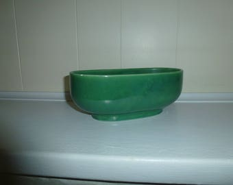 Green Haeger Pottery Glossy Pottery Haeger Planter Green Vintage Planter