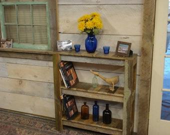 """Driftwood Book shelf (66""""wide x 16""""deep x 72"""" High) (6 shelf)"""