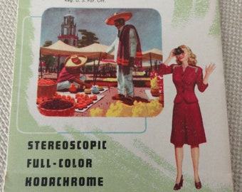 Viewmaster May 1948 Reel List Pamphlet view master
