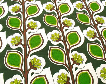 sturdy vintage fabric / 120 x 90 cm / 1960s