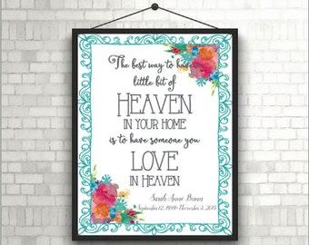 Heaven in Your Home Printable