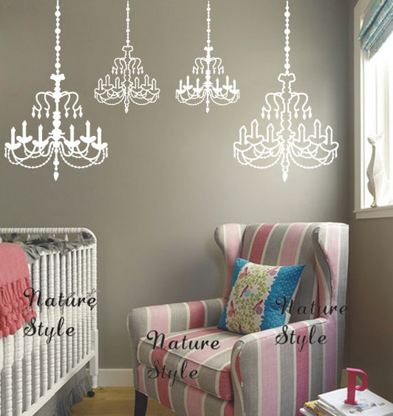 Chandelier Wall Decal by NatureStyle
