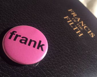 Pink Frank Buttons 38mm