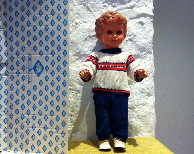 Vintage German 50s Schildkröt schildkröt dolls doll doll figure celluloid Gabriele