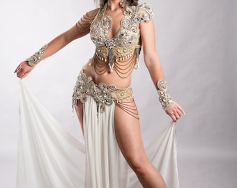 SHERAZADE (and Love Triumphs)-Belly Dance dress