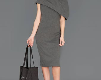 Pencil Dress, Sheath Dress, Knee Dress, Romantic Dress, Occasion Dress, Couture Dress, Office Dress, Work Dress, Stylish Dress, Trendy Dress