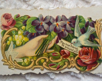 SALE. Beautiful Variety of Vintage Cards (4)